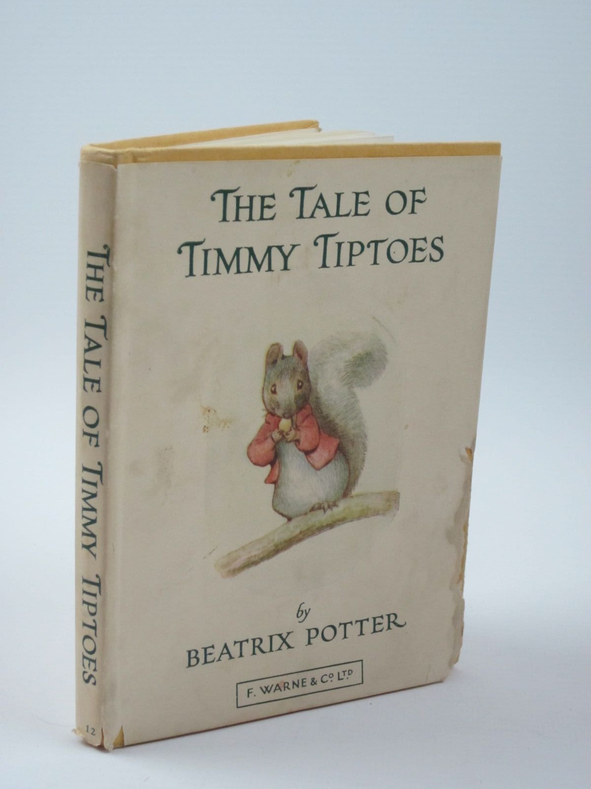 Photo of THE TALE OF TIMMY TIPTOES written by Potter, Beatrix illustrated by Potter, Beatrix published by Frederick Warne & Co Ltd. (STOCK CODE: 1309940)  for sale by Stella & Rose's Books