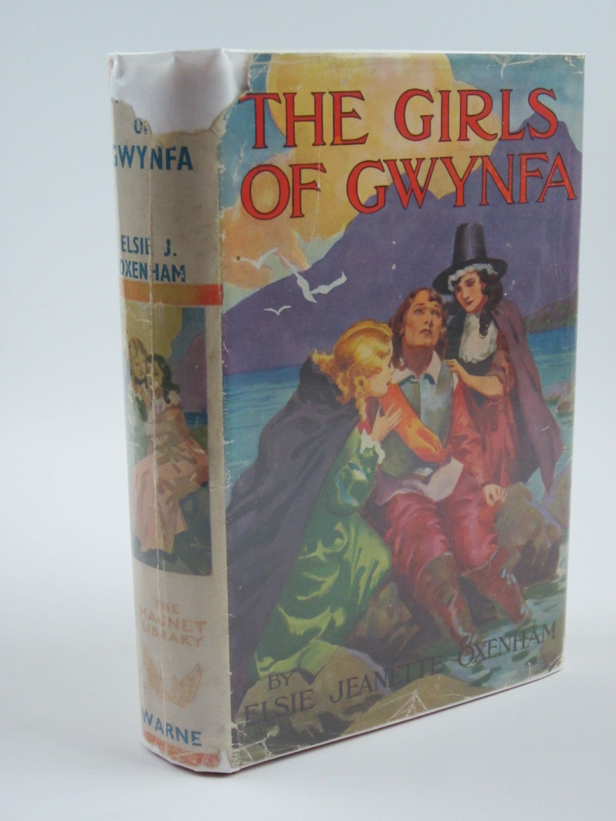 Photo of THE GIRLS OF GWYNFA written by Oxenham, Elsie J. illustrated by Brisley, Nina K. published by Frederick Warne & Co Ltd. (STOCK CODE: 1310057)  for sale by Stella & Rose's Books