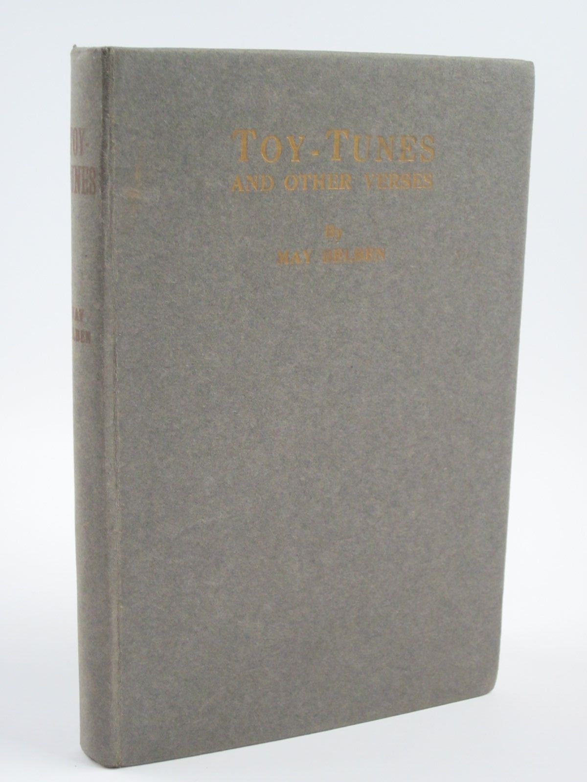 Photo of TOY-TUNES AND OTHER VERSES written by Belben, May published by W. Mate & Sons Ltd. (STOCK CODE: 1310064)  for sale by Stella & Rose's Books