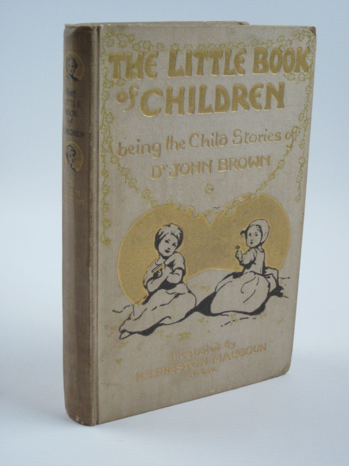 Photo of THE LITTLE BOOK OF CHILDREN written by Brown, John illustrated by MacGoun, H.C. Preston published by T.N. Foulis (STOCK CODE: 1310065)  for sale by Stella & Rose's Books