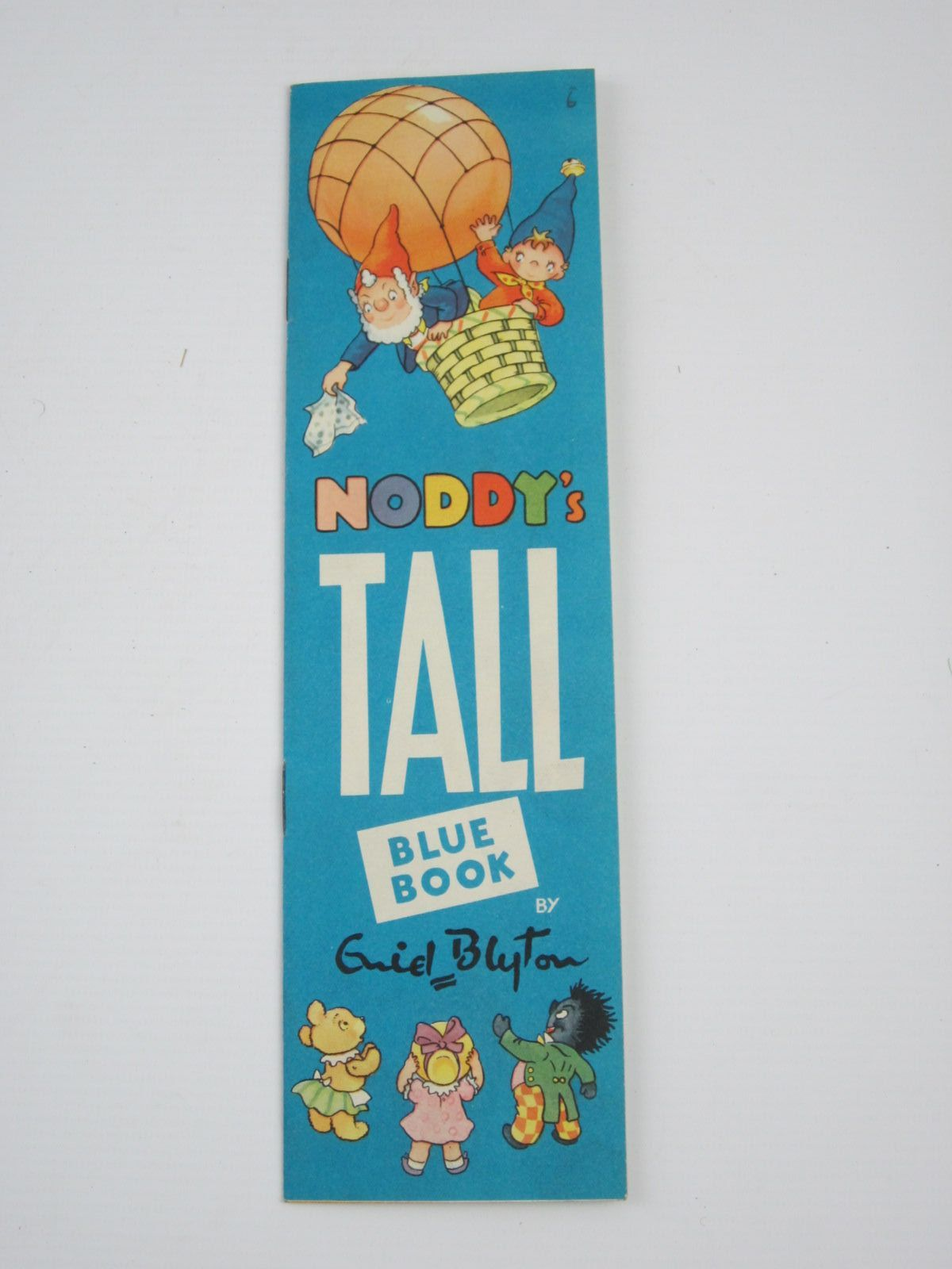 Photo of NODDY'S TALL BLUE BOOK written by Blyton, Enid illustrated by Tyndall, Robert published by Sampson Low, Marston & Co. Ltd. (STOCK CODE: 1310112)  for sale by Stella & Rose's Books