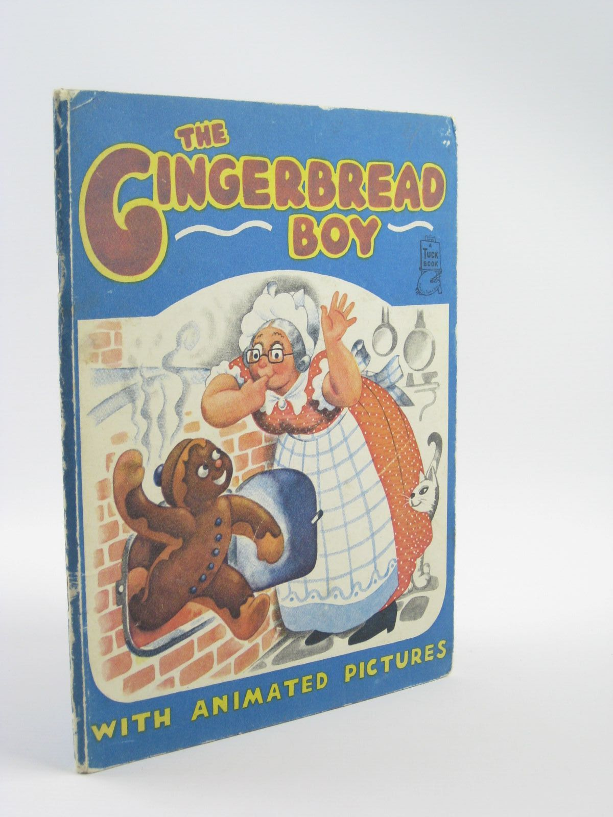 Photo of THE GINGERBREAD BOY WITH ANIMATED PICTURES illustrated by Wehr, Julian published by Raphael Tuck & Sons Ltd. (STOCK CODE: 1310402)  for sale by Stella & Rose's Books