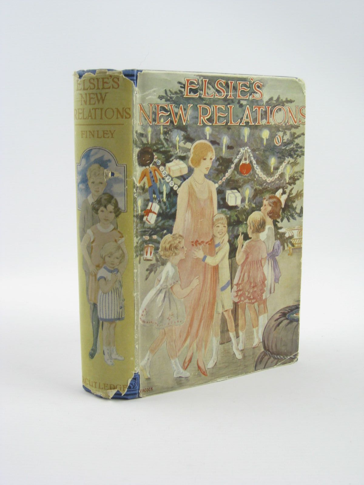 Photo of ELSIE'S NEW RELATIONS written by Finley, Martha published by George Routledge & Sons Ltd. (STOCK CODE: 1310432)  for sale by Stella & Rose's Books