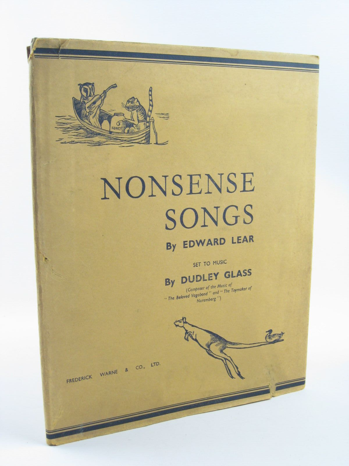 Photo of NONSENSE SONGS written by Lear, Edward Glass, Dudley illustrated by Lear, Edward published by Frederick Warne & Co Ltd. (STOCK CODE: 1310444)  for sale by Stella & Rose's Books