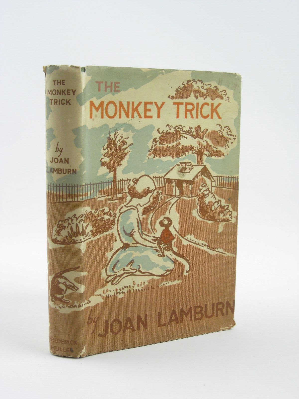 Photo of THE MONKEY TRICK written by Lamburn, Joan illustrated by Baldwin, M. Brake published by Frederick Muller Ltd. (STOCK CODE: 1310595)  for sale by Stella & Rose's Books