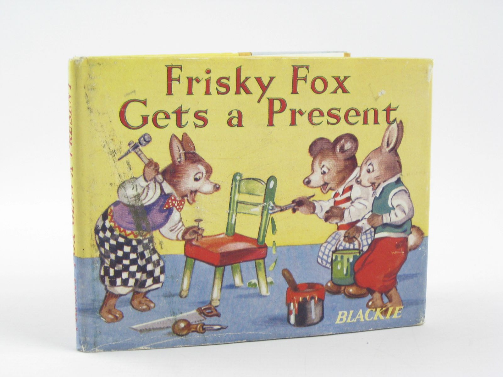 Photo of FRISKY FOX GETS A PRESENT written by Ellsworth, E.E. illustrated by Turvey, Rosalind M. published by Blackie & Son Ltd. (STOCK CODE: 1310625)  for sale by Stella & Rose's Books