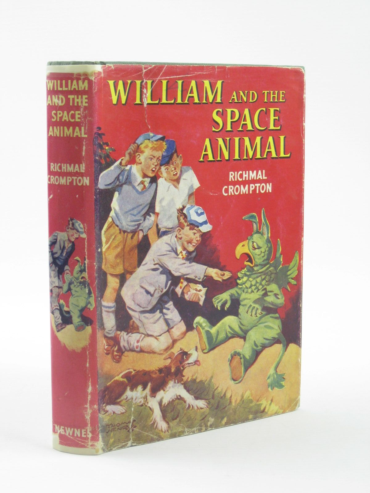 Photo of WILLIAM AND THE SPACE ANIMAL written by Crompton, Richmal illustrated by Henry, Thomas published by George Newnes (STOCK CODE: 1310723)  for sale by Stella & Rose's Books