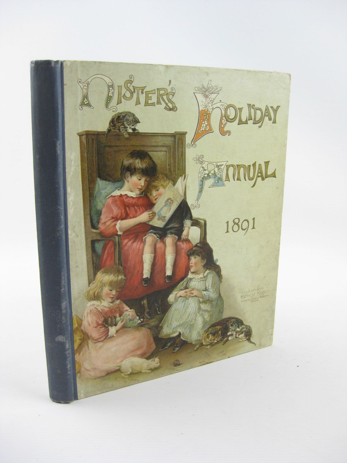 Photo of NISTER'S HOLIDAY ANNUAL FOR 1891 written by L'Estrange, C.J. Molesworth, Mrs. Haskell, L. et al,  published by Ernest Nister (STOCK CODE: 1310805)  for sale by Stella & Rose's Books