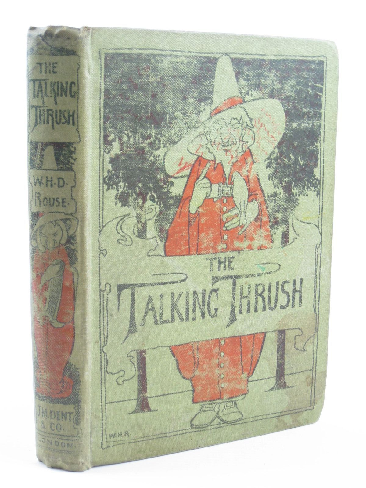 Photo of THE TALKING THRUSH AND OTHER TALES FROM INDIA written by Rouse, W.H.D. Crooke, W. illustrated by Robinson, W. Heath published by J.M. Dent & Co. (STOCK CODE: 1310971)  for sale by Stella & Rose's Books