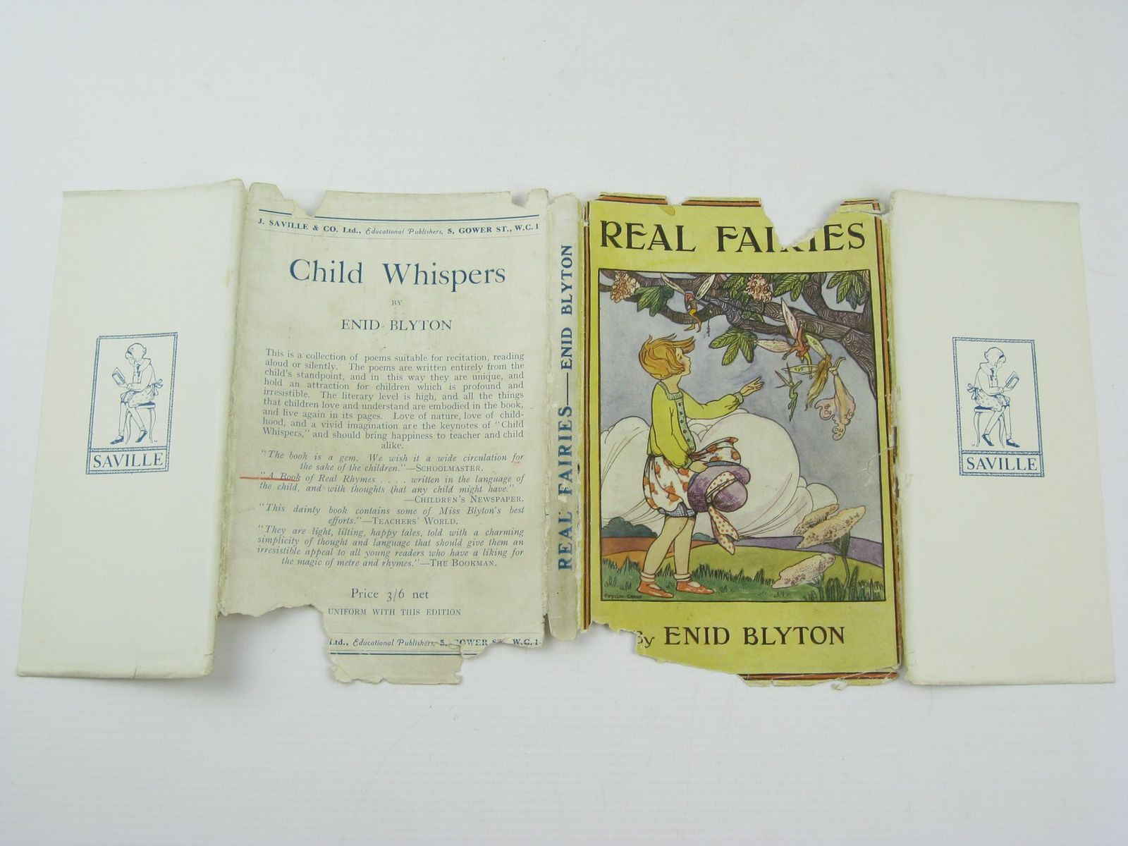 Photo of REAL FAIRIES written by Blyton, Enid published by J. Saville & Co. Ltd. (STOCK CODE: 1311026)  for sale by Stella & Rose's Books