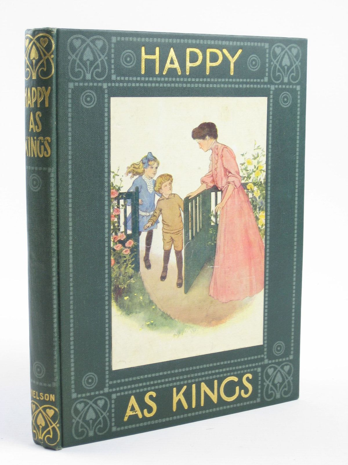 Photo of HAPPY AS KINGS written by McIntosh, Jean illustrated by Olmstead, Clara published by Thomas Nelson & Sons (STOCK CODE: 1311039)  for sale by Stella & Rose's Books