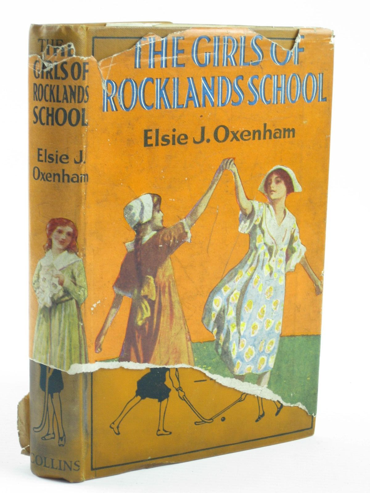 Photo of THE GIRLS OF ROCKLANDS SCHOOL written by Oxenham, Elsie J. illustrated by Wood, Elsie Anna published by Collins Clear-Type Press (STOCK CODE: 1311116)  for sale by Stella & Rose's Books