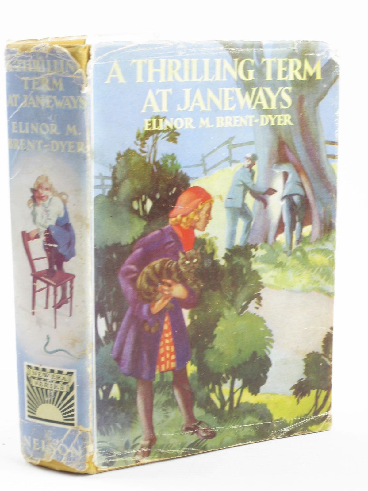 Photo of A THRILLING TERM AT JANEWAYS written by Brent-Dyer, Elinor M. illustrated by Anderson, Florence Mary published by Thomas Nelson and Sons Ltd. (STOCK CODE: 1311117)  for sale by Stella & Rose's Books