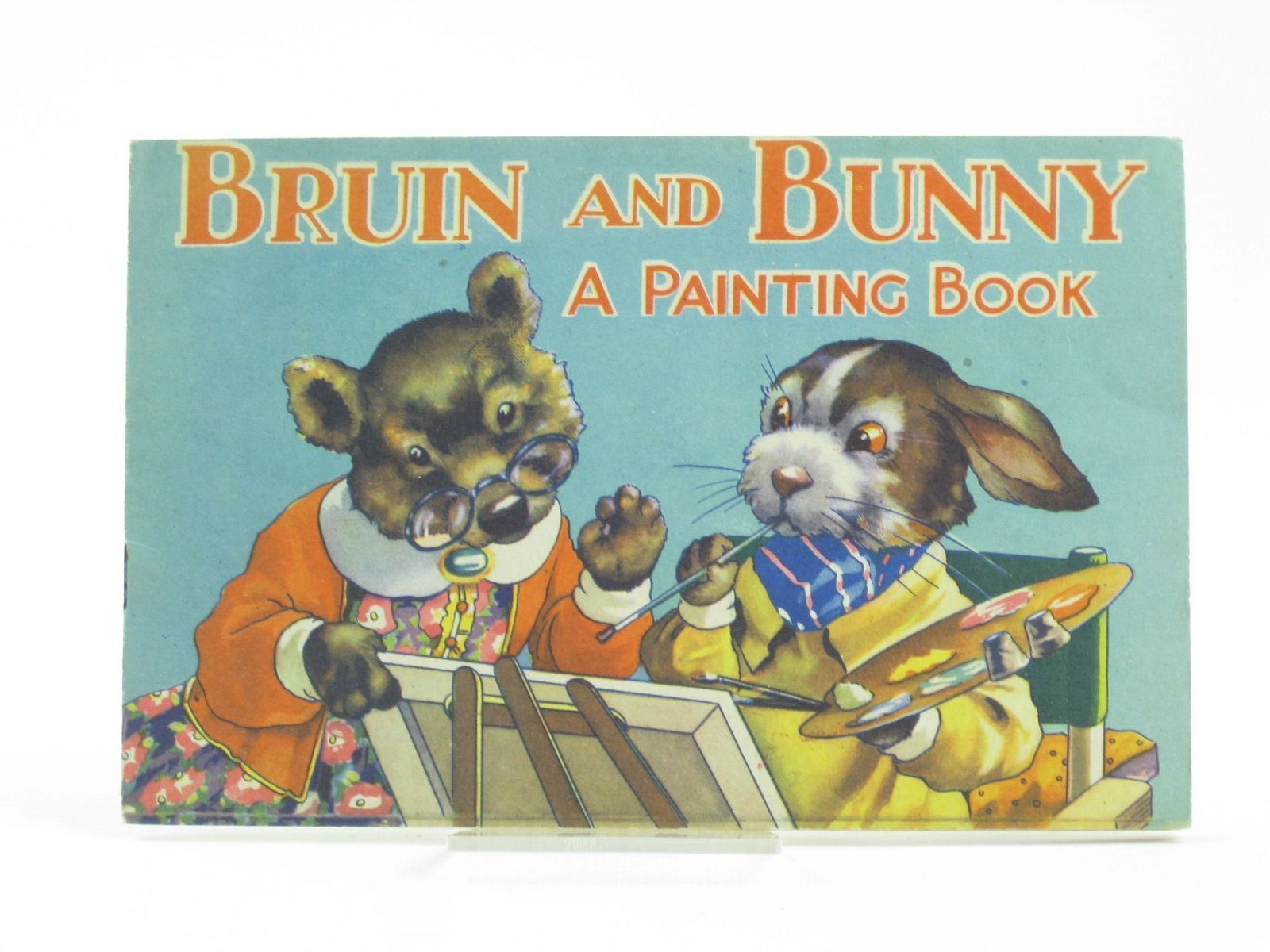Photo of BRUIN AND BUNNY - A PAINTING BOOK FOR BOYS AND GIRLS- Stock Number: 1311147