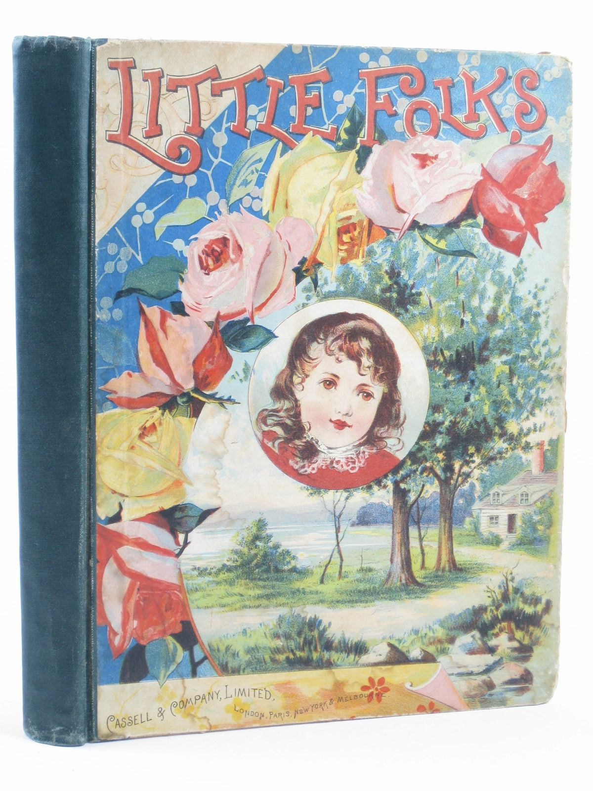 Photo of LITTLE FOLKS VOL 25 illustrated by Wain, Louis et al., published by Cassell & Company Limited (STOCK CODE: 1311173)  for sale by Stella & Rose's Books