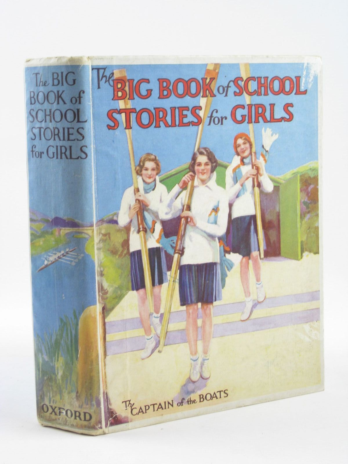 Photo of THE BIG BOOK OF SCHOOL STORIES FOR GIRLS written by Strang, Mrs. Herbert Simms, Evelyn Moore, Dorothea Elder, Josephine McAlpine, Jessie et al,  illustrated by Johnston, M.D. Cuneo,  Lodge, Grace et al.,  published by Oxford University Press, Humphrey Milford (STOCK CODE: 1311209)  for sale by Stella & Rose's Books