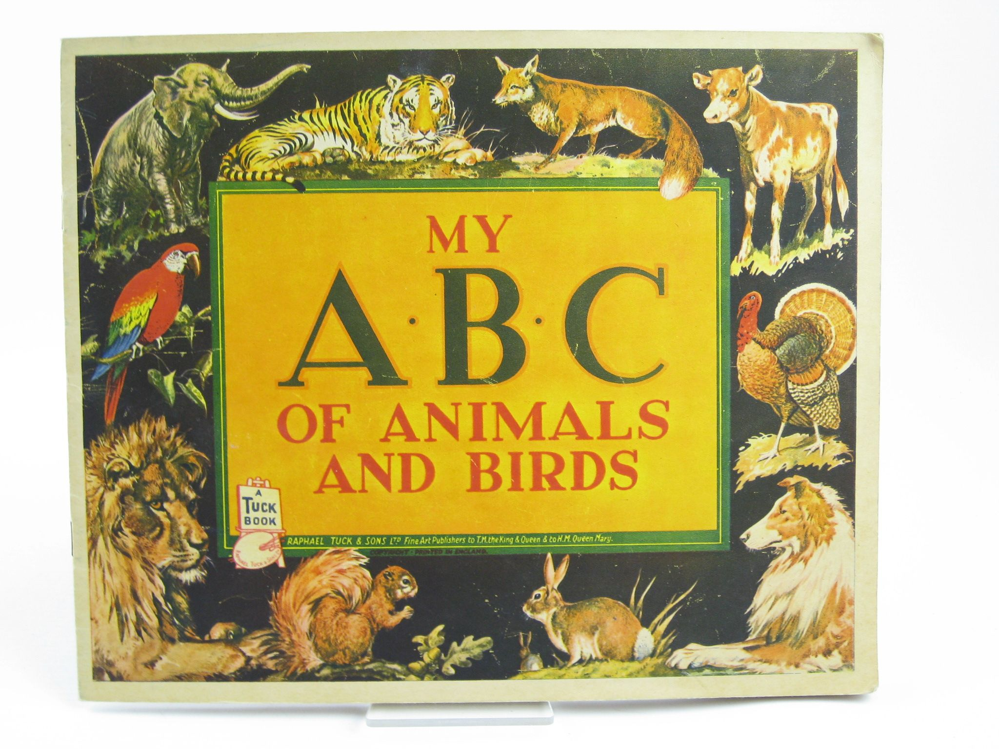 Photo of MY A.B.C. OF ANIMALS AND BIRDS published by Raphael Tuck & Sons Ltd. (STOCK CODE: 1311260)  for sale by Stella & Rose's Books