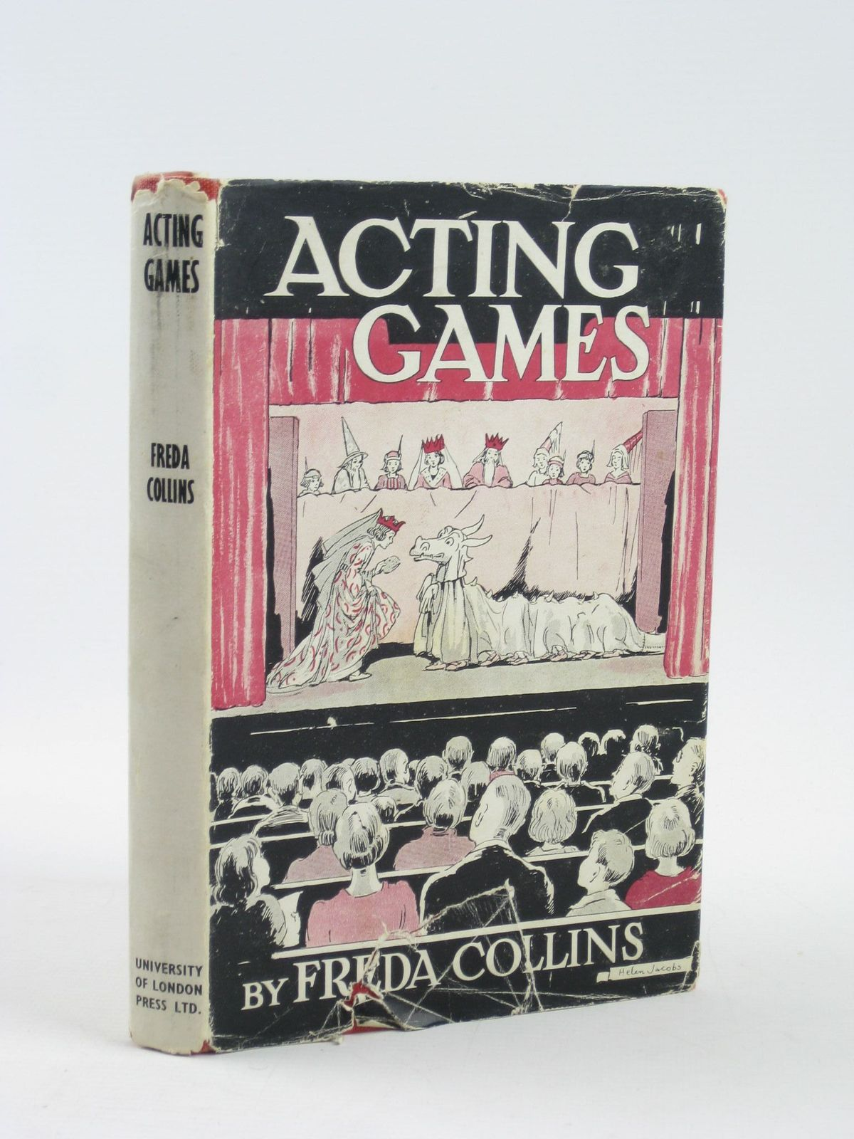 Photo of ACTING GAMES written by Collins, Freda illustrated by Jacobs, Helen et al., published by University of London Press Ltd. (STOCK CODE: 1311306)  for sale by Stella & Rose's Books