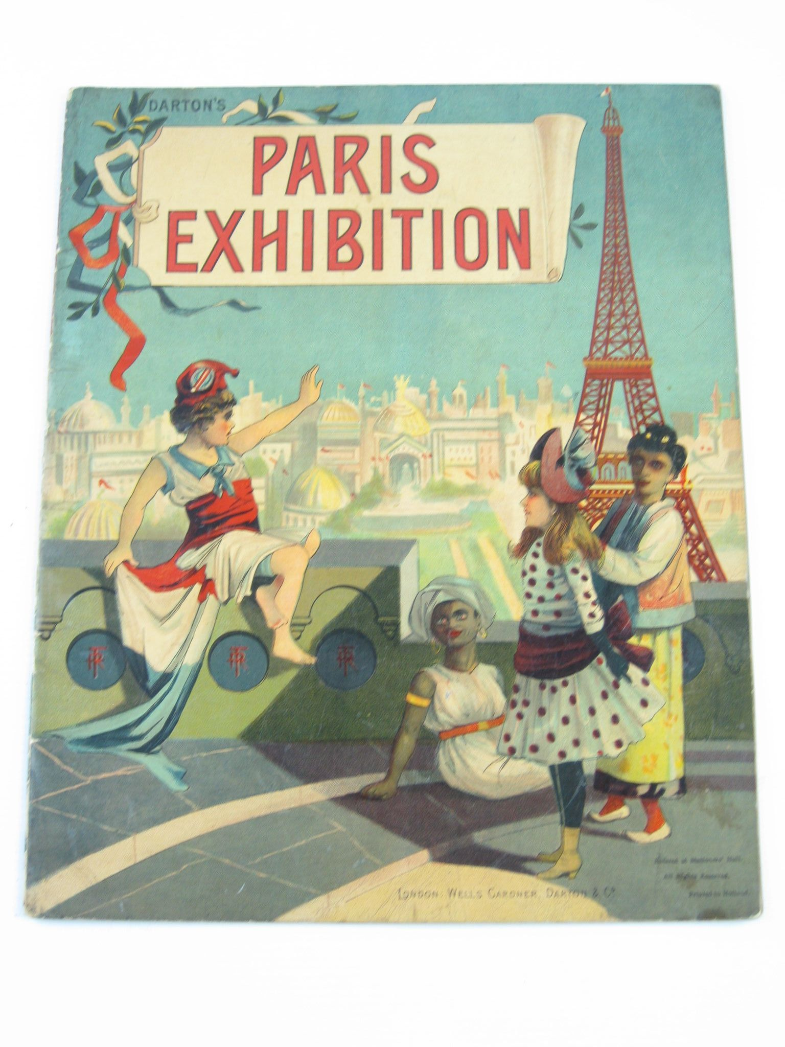Photo of DARTON'S PARIS EXHIBITION published by Wells Gardner, Darton & Co. (STOCK CODE: 1311372)  for sale by Stella & Rose's Books