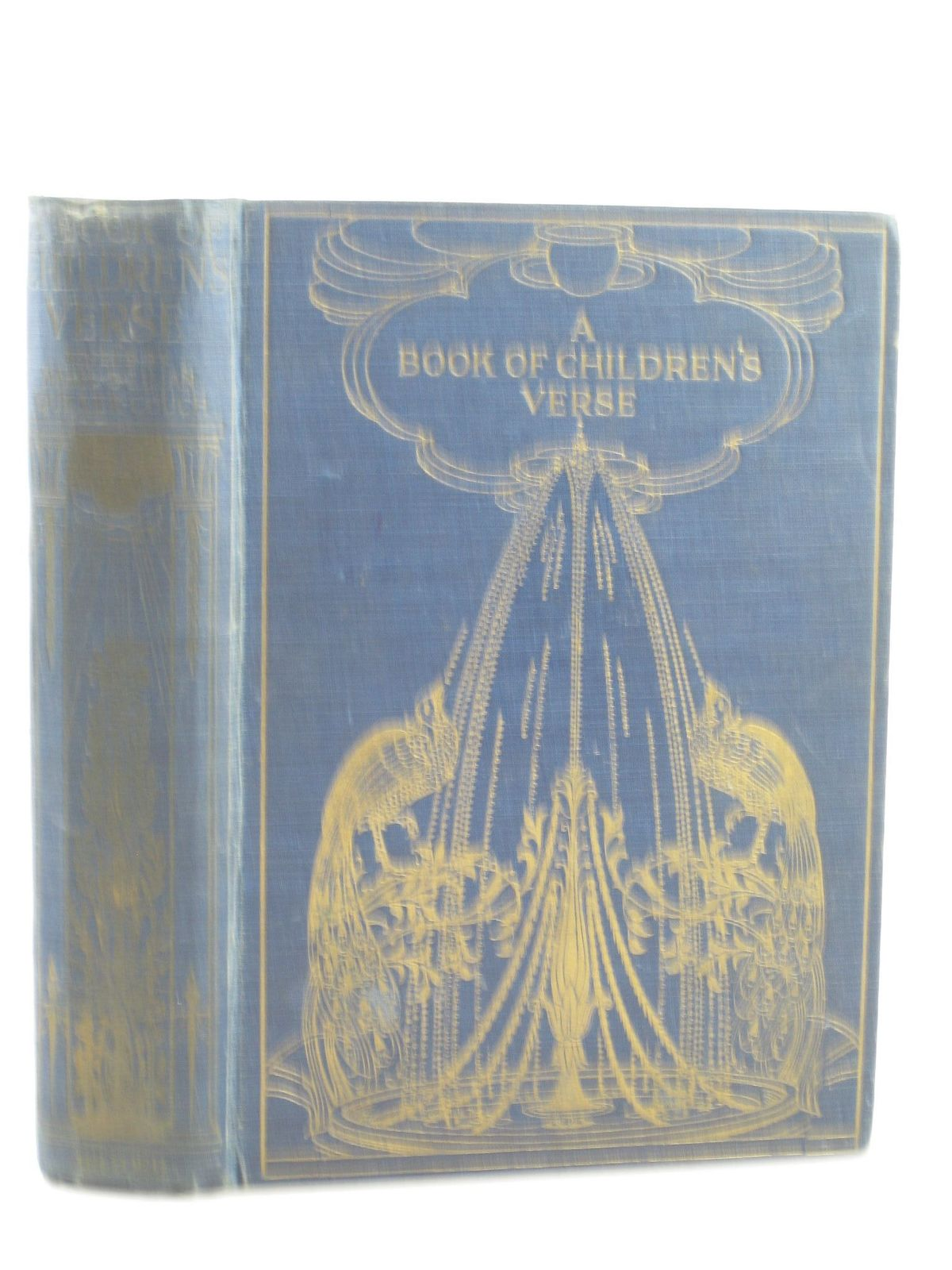 Photo of A BOOK OF CHILDREN'S VERSE written by Quiller-Couch, Mabel Quiller-Couch, Lilian illustrated by Gray, M. Etheldreda published by Hodder & Stoughton, Henry Frowde (STOCK CODE: 1311385)  for sale by Stella & Rose's Books