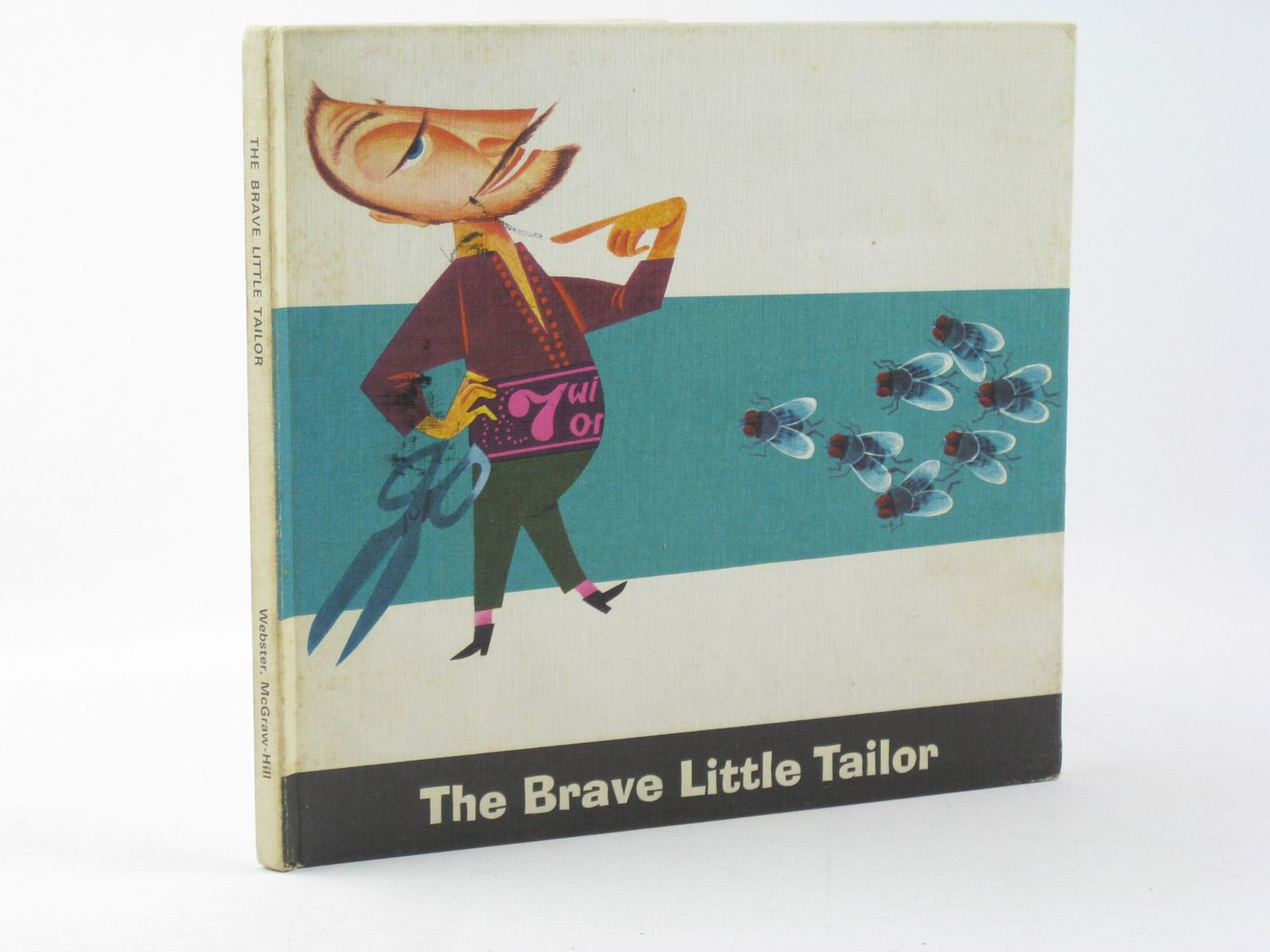 Photo of THE BRAVE LITTLE TAILOR written by Grimm, Brothers Claus, Audrey illustrated by Probst, E. published by Mcgraw-Hill Publishing Company Ltd. (STOCK CODE: 1311587)  for sale by Stella & Rose's Books