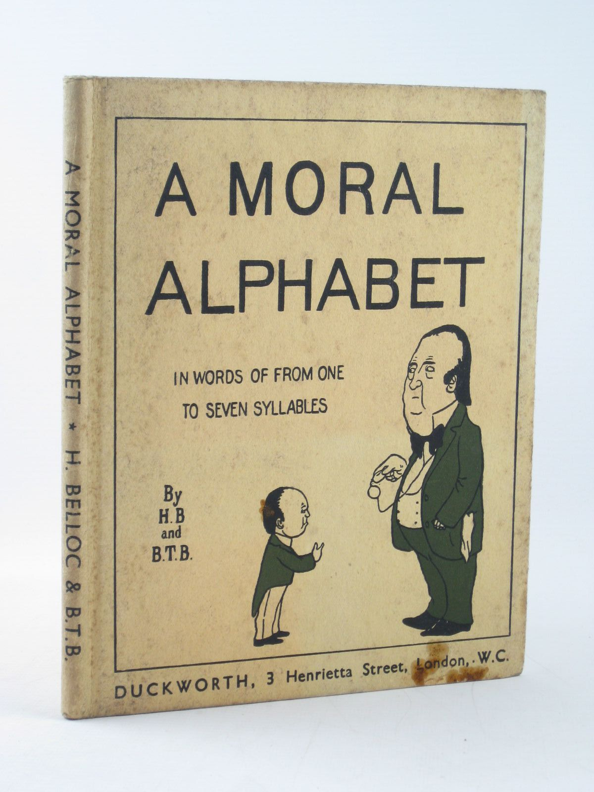 Photo of A MORAL ALPHABET- Stock Number: 1311684