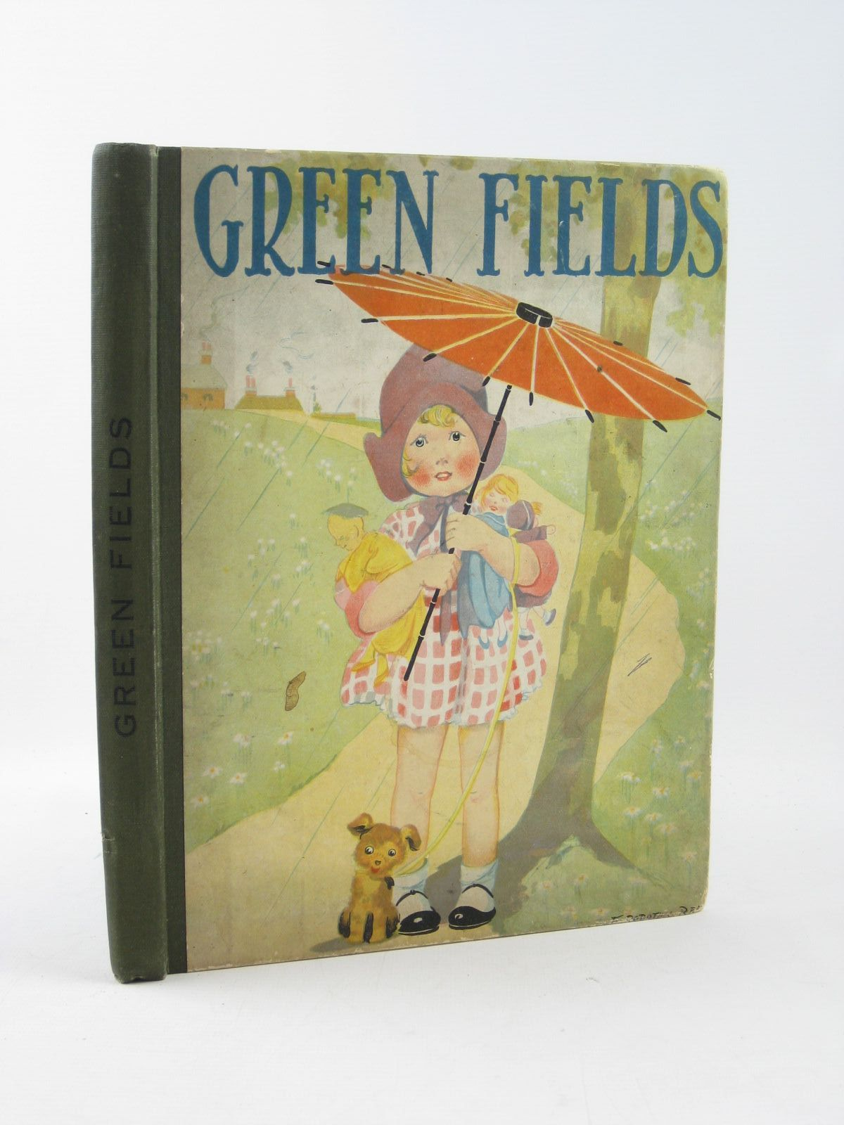 Photo of GREEN FIELDS written by Skae, Hilda T.<br />Rutley, Cecily M.<br />Wilson, Theodora Wilson<br />et al, illustrated by Cobb, Ruth<br />Jackson, A.E.<br />Hassall, John<br />et al., published by Collins Clear-Type Press (STOCK CODE: 1311788)  for sale by Stella & Rose's Books