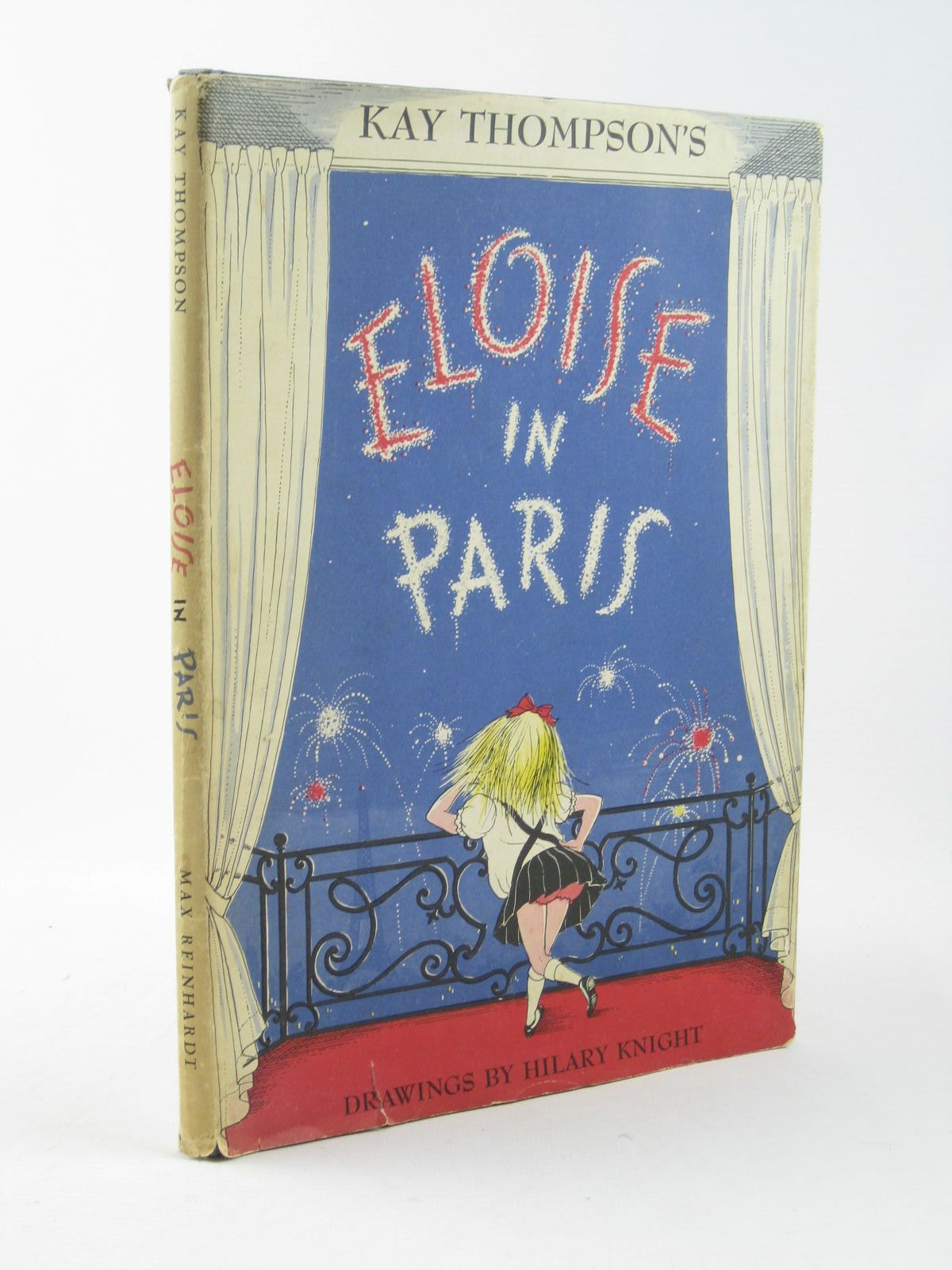 Photo of ELOISE IN PARIS written by Thompson, Kay illustrated by Knight, Hilary published by Max Reinhardt (STOCK CODE: 1311789)  for sale by Stella & Rose's Books