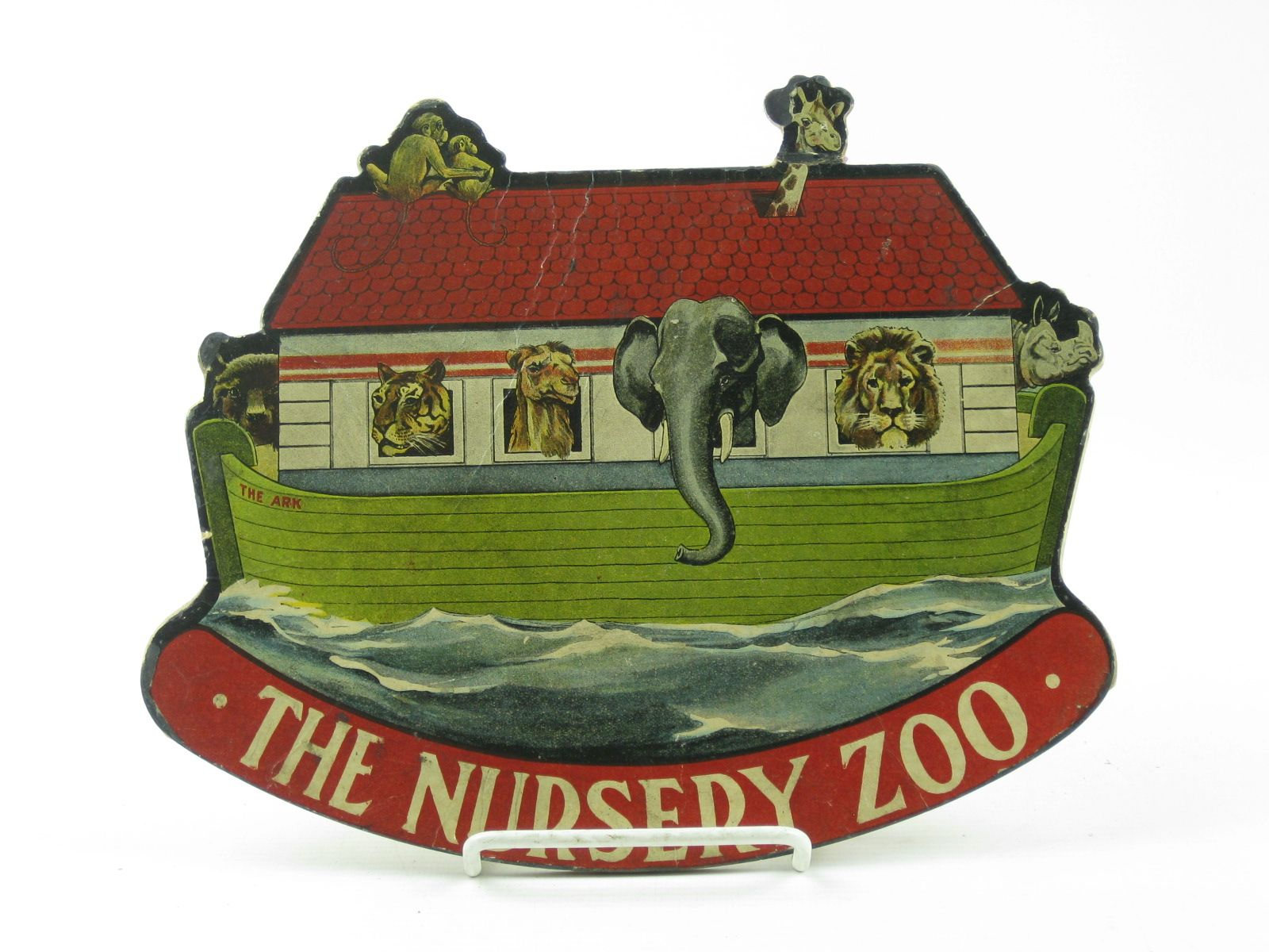 Photo of THE NURSERY ZOO published by Valentine & Sons Ltd. (STOCK CODE: 1311794)  for sale by Stella & Rose's Books