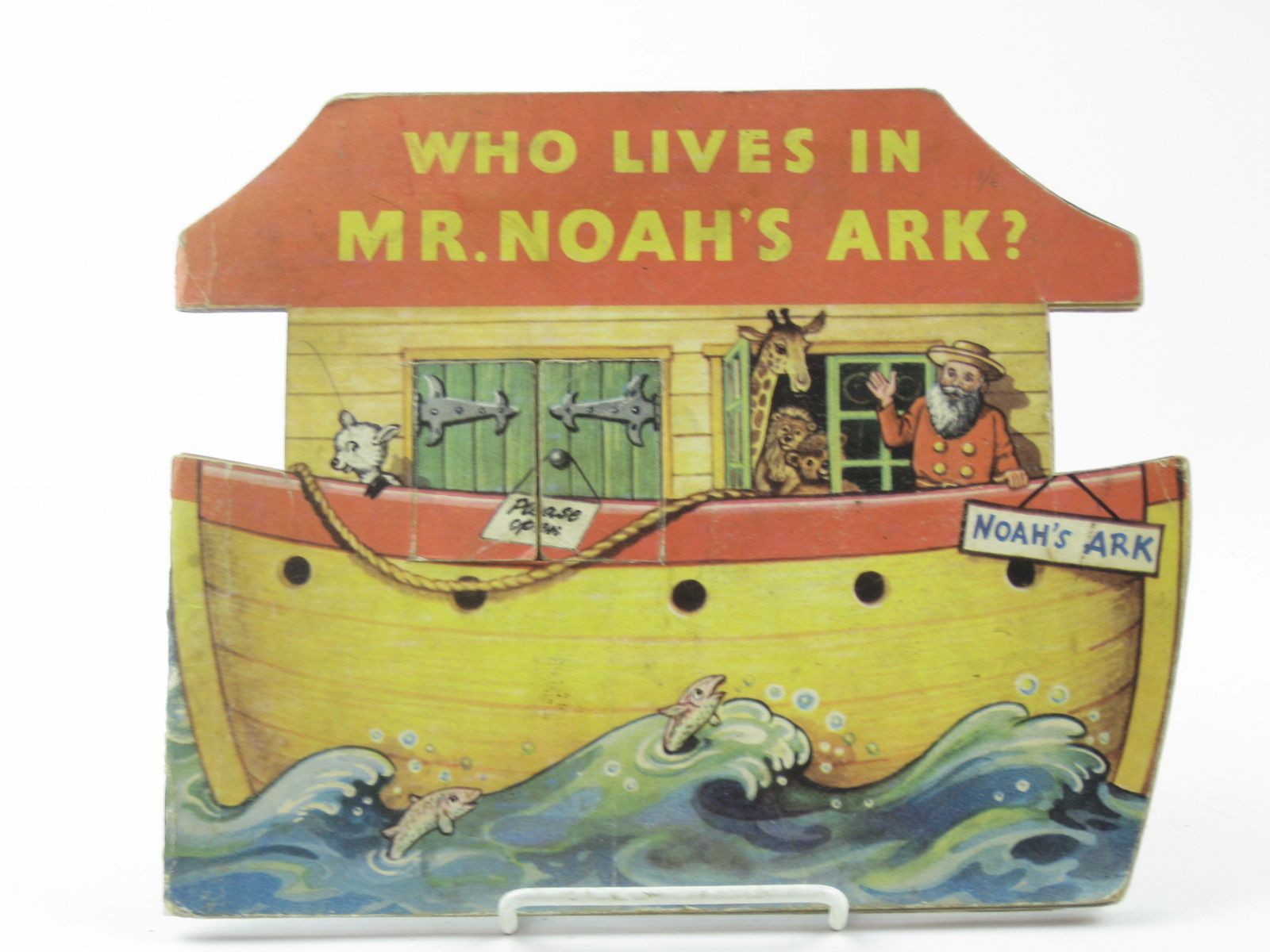 Photo of WHO LIVES IN MR. NOAH'S ARK? published by Sampson Low (STOCK CODE: 1311795)  for sale by Stella & Rose's Books