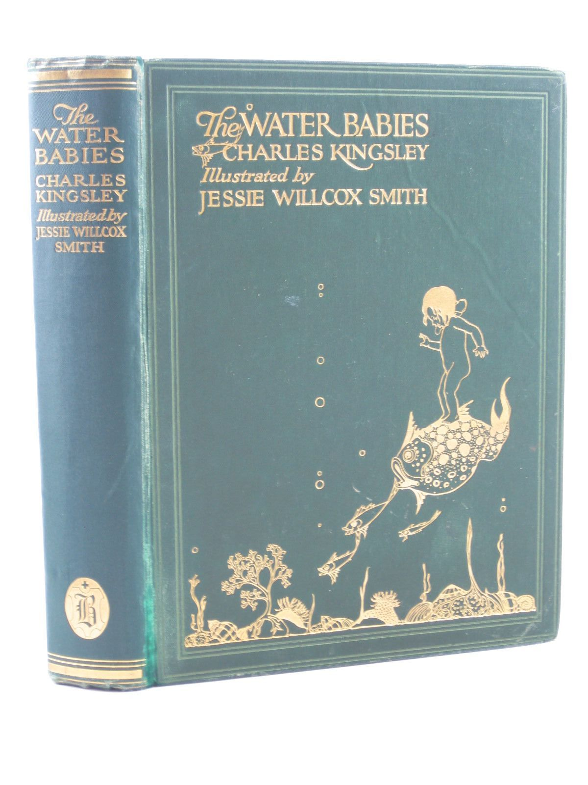 Photo of THE WATER BABIES written by Kingsley, Charles illustrated by Smith, Jessie Willcox published by Hodder & Stoughton (STOCK CODE: 1311834)  for sale by Stella & Rose's Books