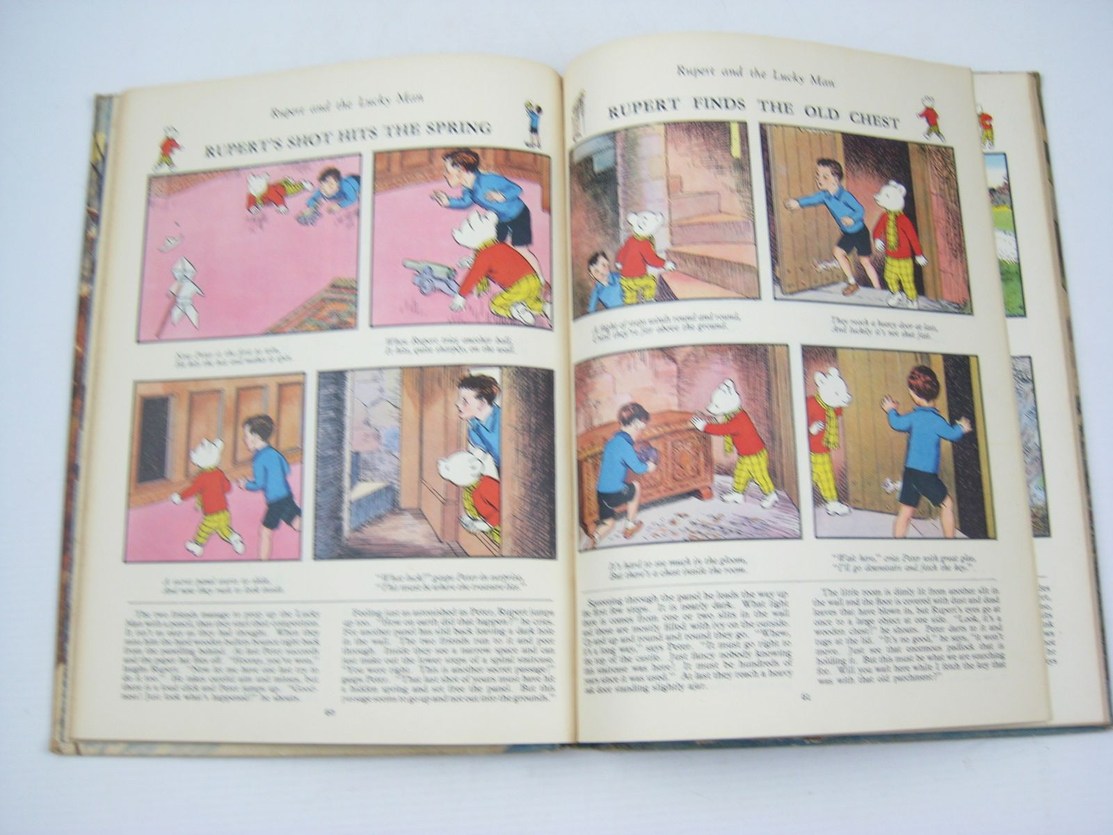 Photo of RUPERT ANNUAL 1951 - THE NEW RUPERT BOOK written by Bestall, Alfred illustrated by Bestall, Alfred published by Daily Express (STOCK CODE: 1311902)  for sale by Stella & Rose's Books