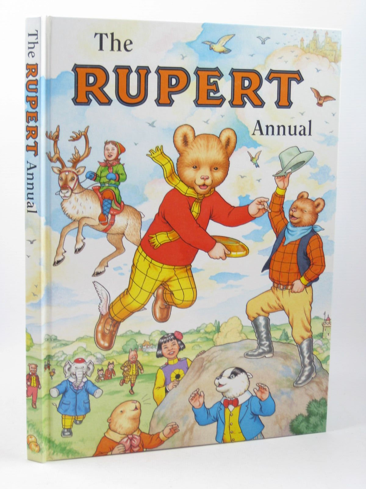 Photo of RUPERT ANNUAL 1999 written by Robinson, Ian illustrated by Harrold, John Hart, Gina published by Pedigree Books Limited (STOCK CODE: 1311918)  for sale by Stella & Rose's Books
