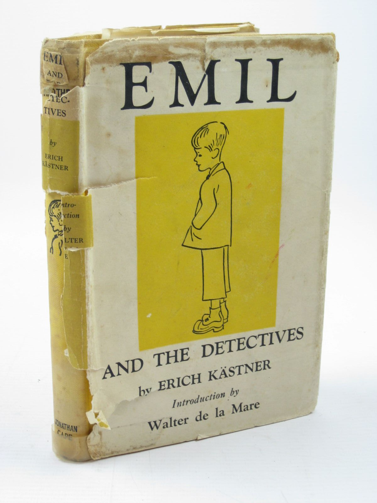Photo of EMIL AND THE DETECTIVES written by Kastner, Erich published by Jonathan Cape (STOCK CODE: 1312102)  for sale by Stella & Rose's Books