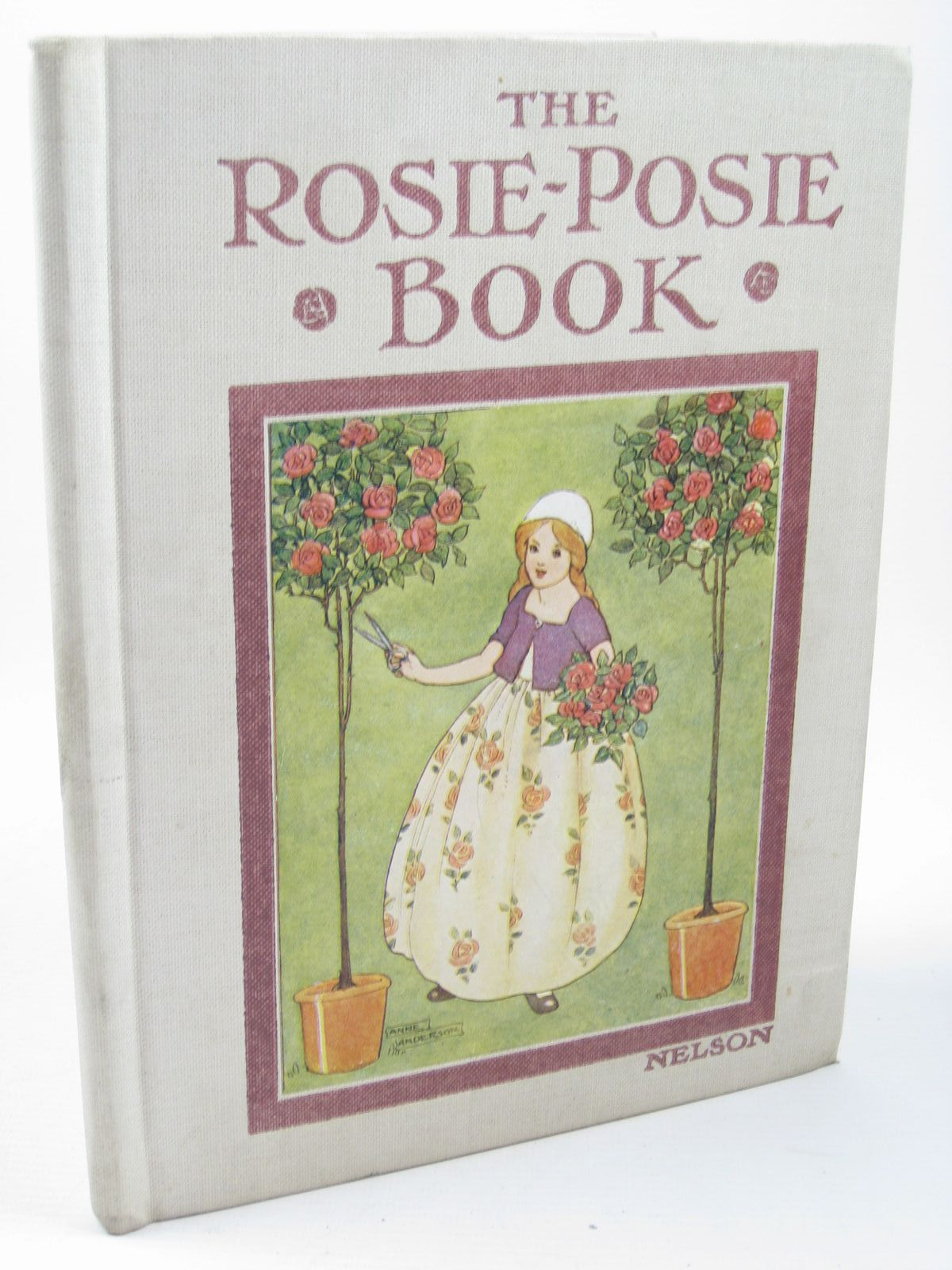 Photo of THE ROSIE-POSIE BOOK illustrated by Anderson, Anne published by Thomas Nelson & Sons (STOCK CODE: 1312174)  for sale by Stella & Rose's Books