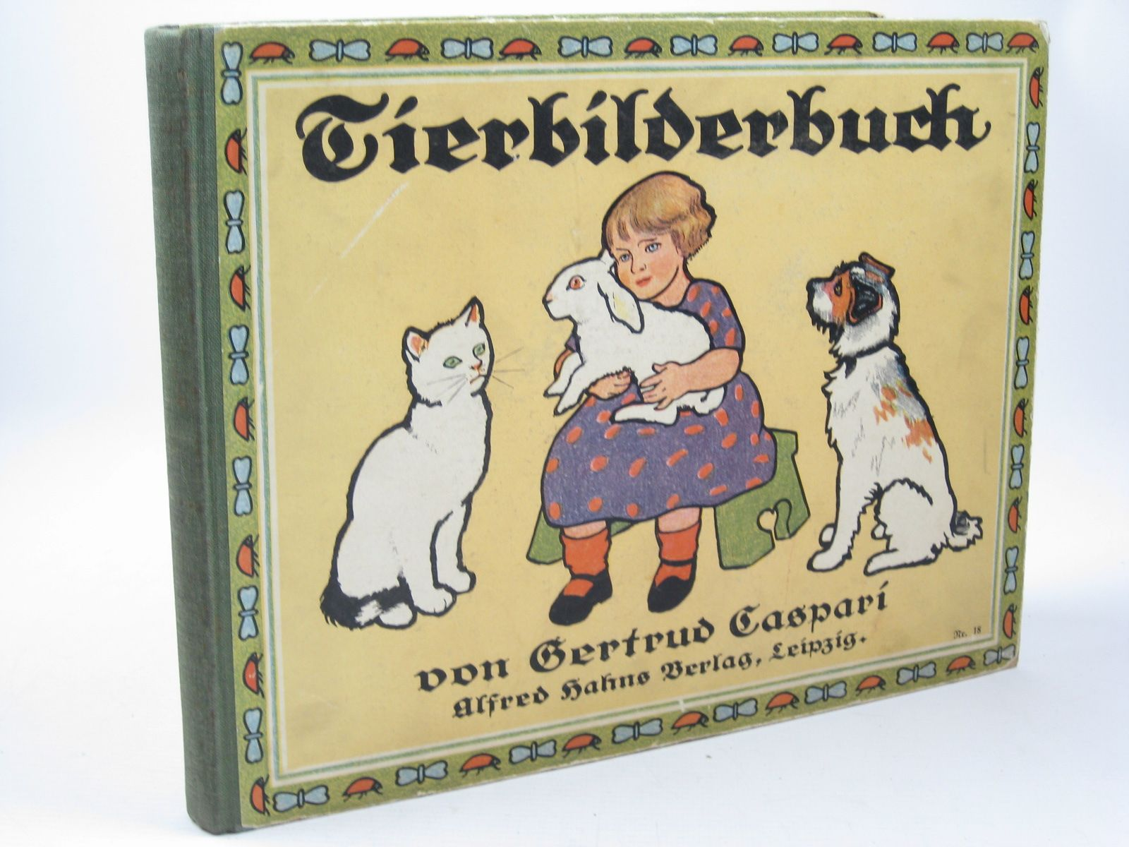 Photo of TIERBILDERBUCH illustrated by Caspari, Gertrud published by Alfred Hahns (STOCK CODE: 1312184)  for sale by Stella & Rose's Books
