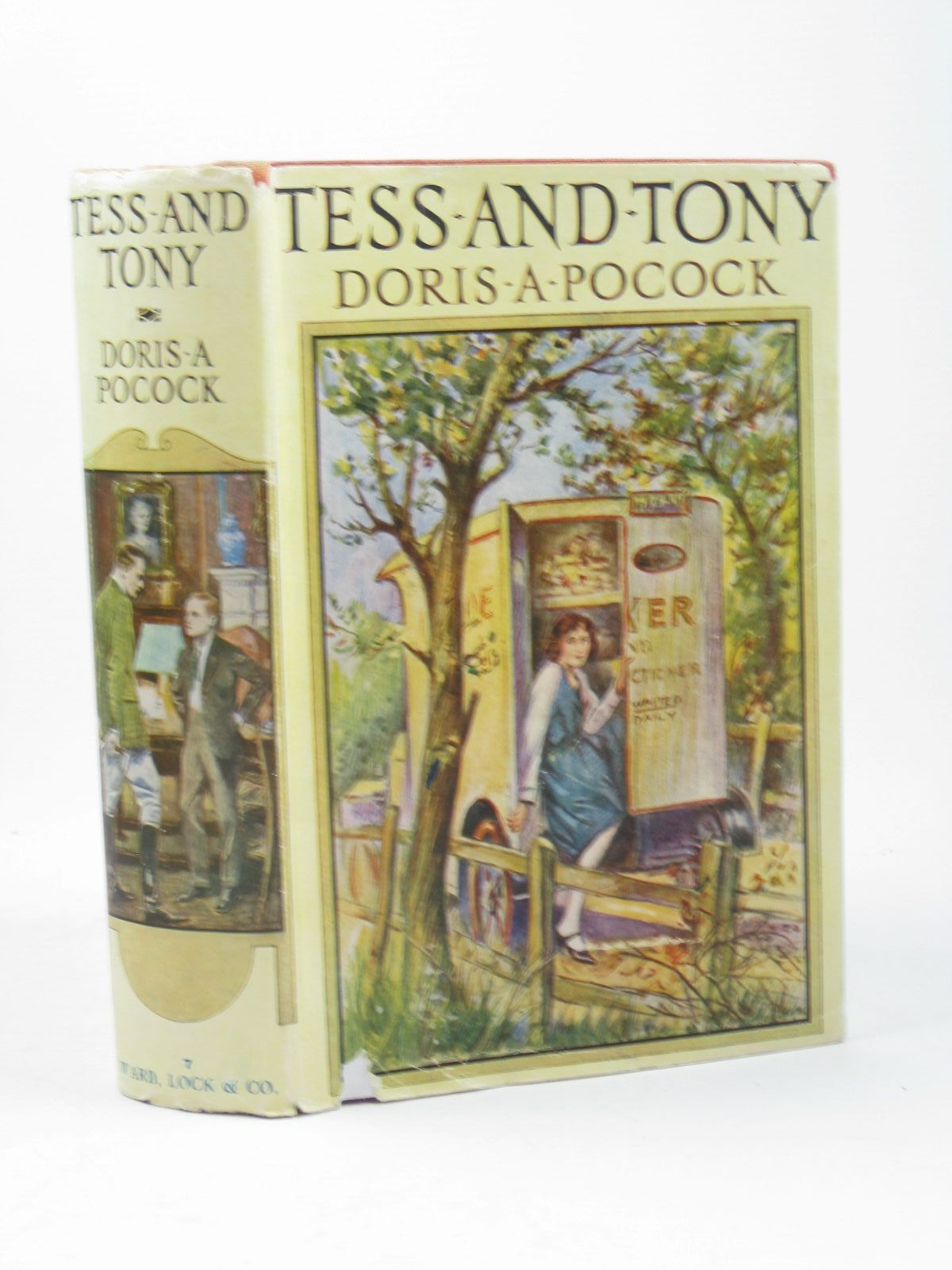 Photo of TESS AND TONY written by Pocock, Doris published by Ward Lock & Co Ltd. (STOCK CODE: 1312218)  for sale by Stella & Rose's Books