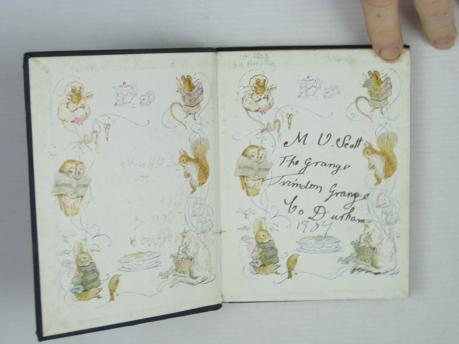 Photo of THE TALE OF SQUIRREL NUTKIN written by Potter, Beatrix illustrated by Potter, Beatrix published by Frederick Warne & Co. (STOCK CODE: 1312249)  for sale by Stella & Rose's Books