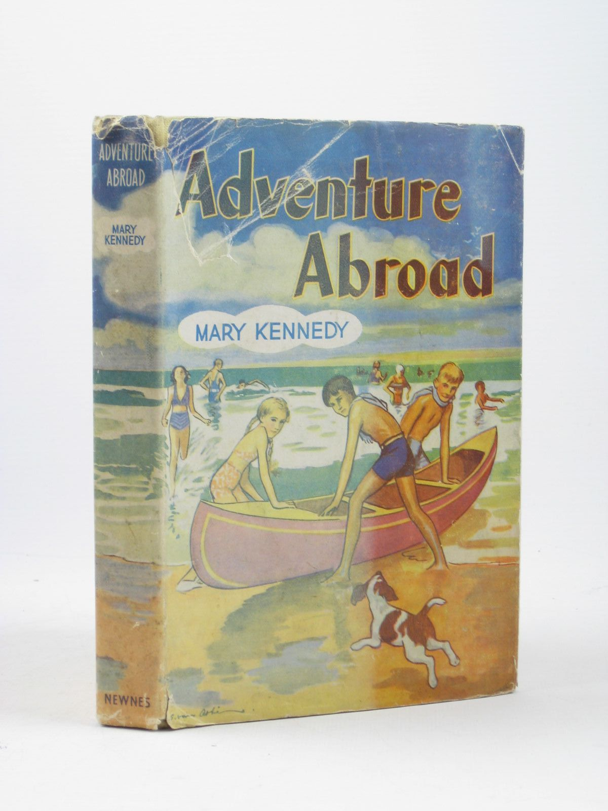 Photo of ADVENTURE ABROAD written by Kennedy, Mary illustrated by Abbe, S. Van published by George Newnes Limited (STOCK CODE: 1312286)  for sale by Stella & Rose's Books