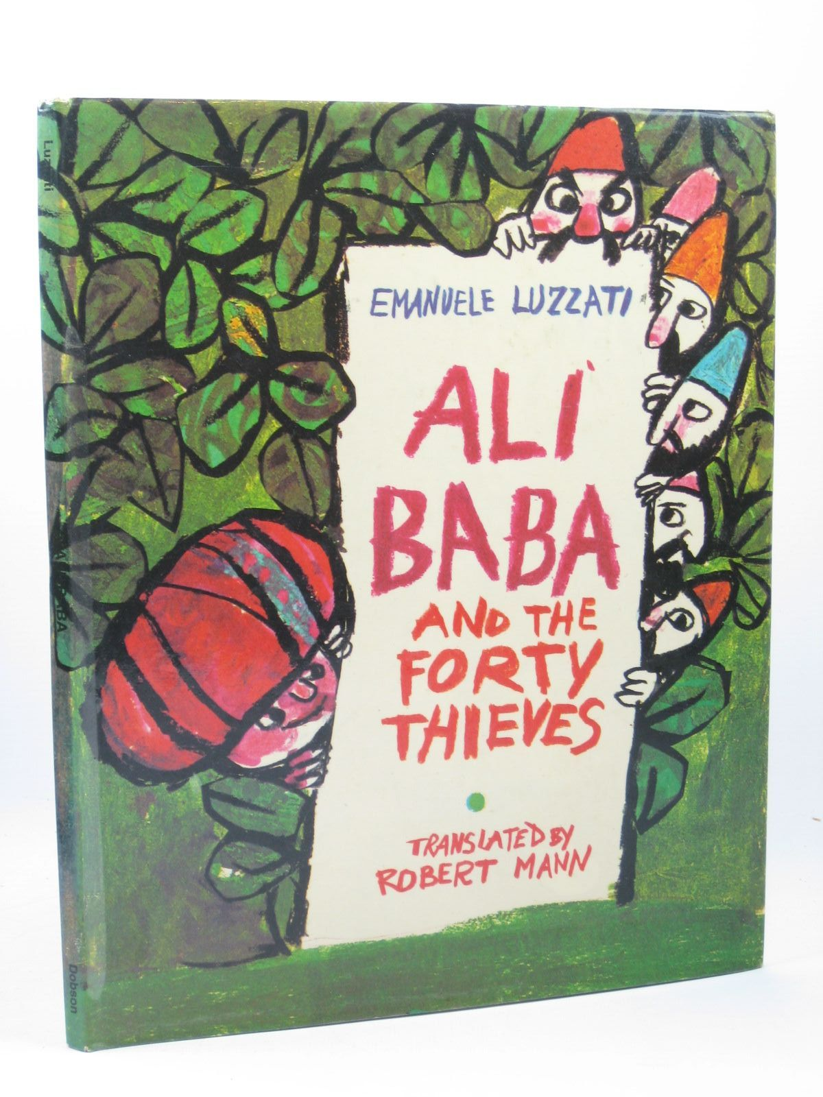 Photo of ALI BABA AND THE FORTY THIEVES written by Luzzati, Emanuele Mann, Robert illustrated by Luzzati, Emanuele published by Dobson Books Ltd. (STOCK CODE: 1312292)  for sale by Stella & Rose's Books