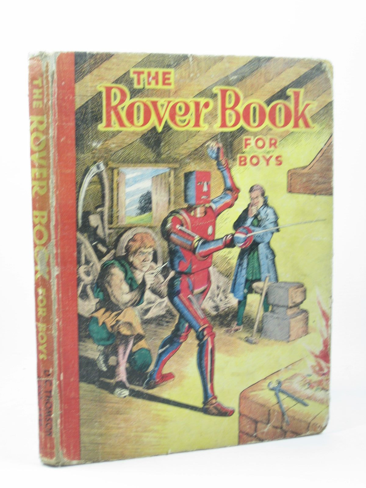 Photo of THE ROVER BOOK FOR BOYS published by D.C. Thomson & Co Ltd. (STOCK CODE: 1312303)  for sale by Stella & Rose's Books