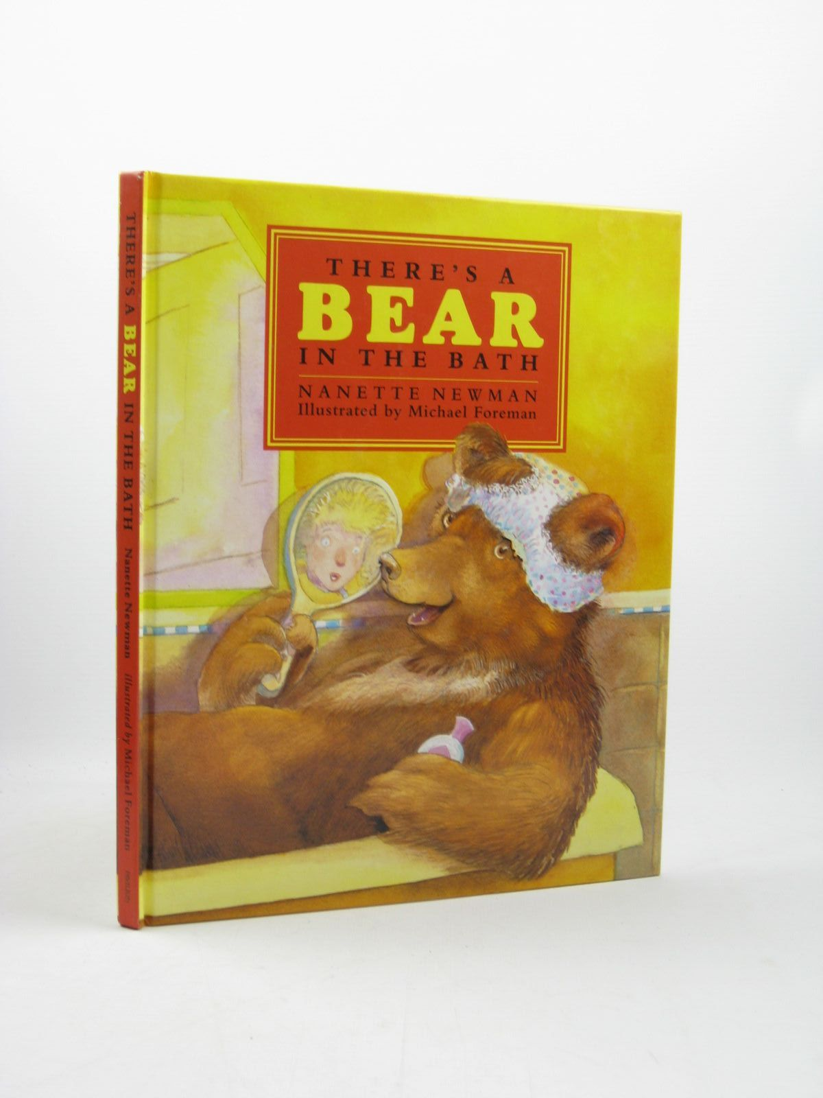 Photo of THERE'S A BEAR IN THE BATH written by Newman, Nanette illustrated by Foreman, Michael published by Pavilion Books Limited (STOCK CODE: 1312507)  for sale by Stella & Rose's Books
