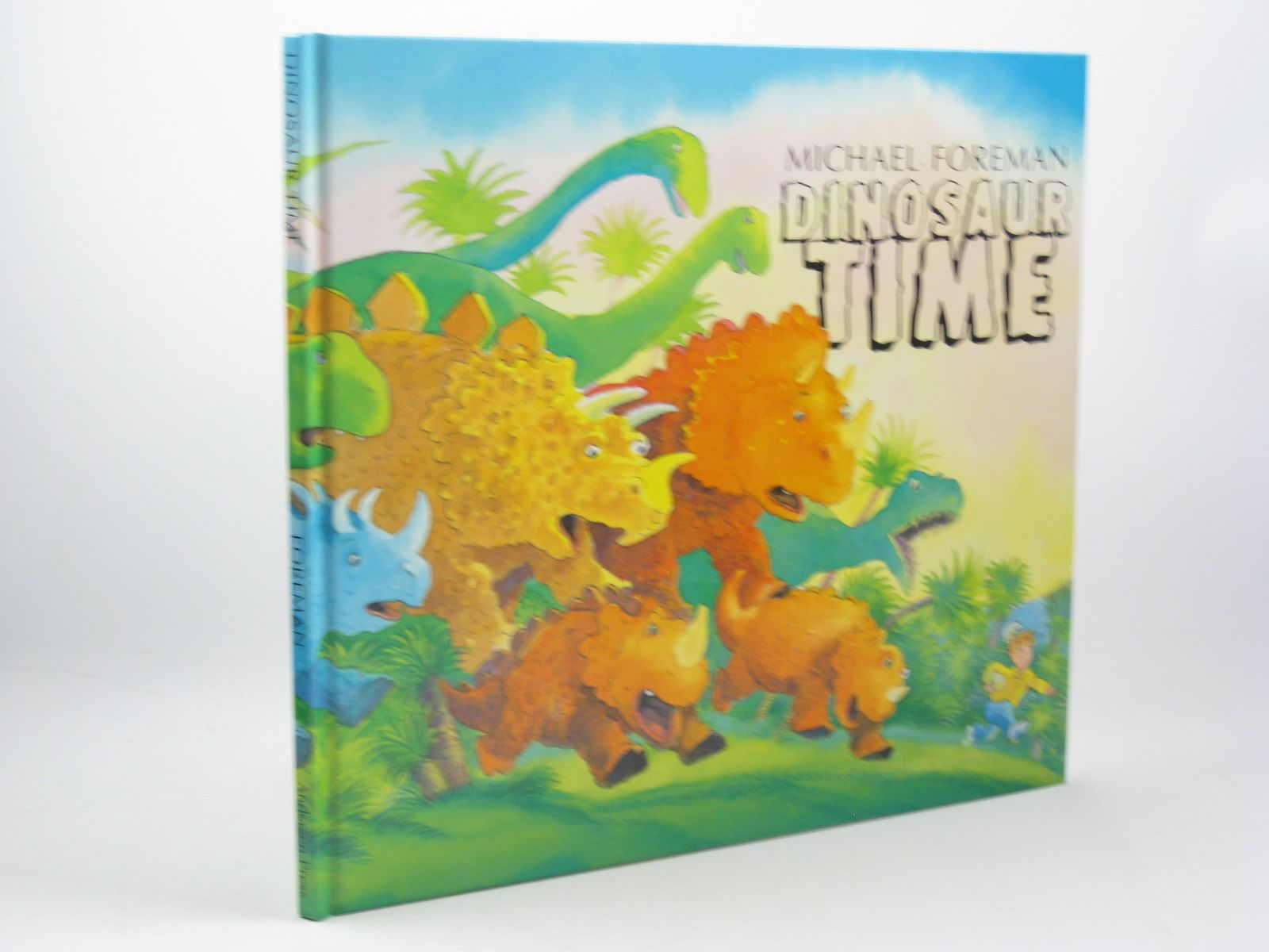 Photo of DINOSAUR TIME written by Foreman, Michael illustrated by Foreman, Michael published by Andersen Press Ltd. (STOCK CODE: 1312512)  for sale by Stella & Rose's Books