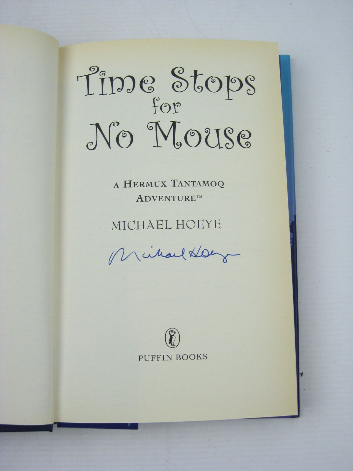 Photo of TIME STOPS FOR NO MOUSE written by Hoeye, Michael published by Puffin Books (STOCK CODE: 1312526)  for sale by Stella & Rose's Books