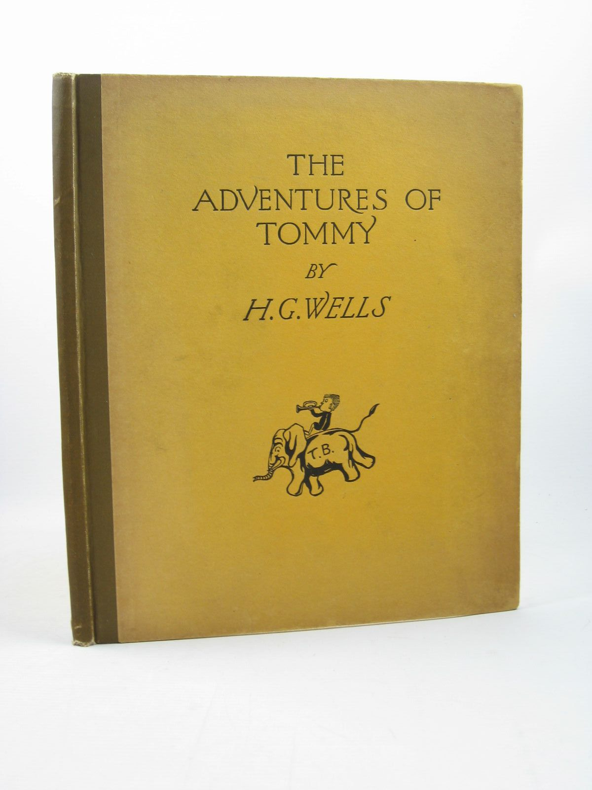 Photo of THE ADVENTURES OF TOMMY written by Wells, H.G. illustrated by Wells, H.G. published by George G. Harrap & Co. Ltd. (STOCK CODE: 1312576)  for sale by Stella & Rose's Books