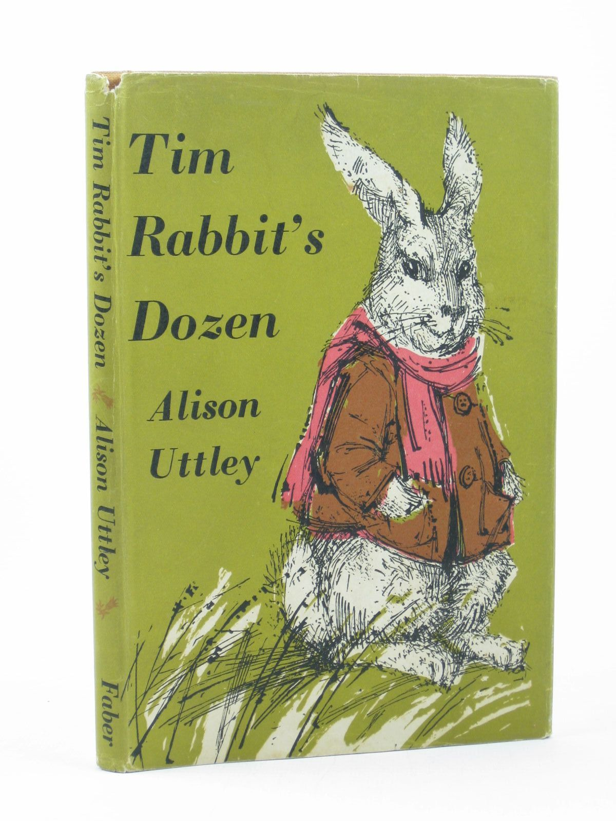 Photo of TIM RABBIT'S DOZEN written by Uttley, Alison illustrated by Hughes, Shirley published by Faber & Faber (STOCK CODE: 1312617)  for sale by Stella & Rose's Books