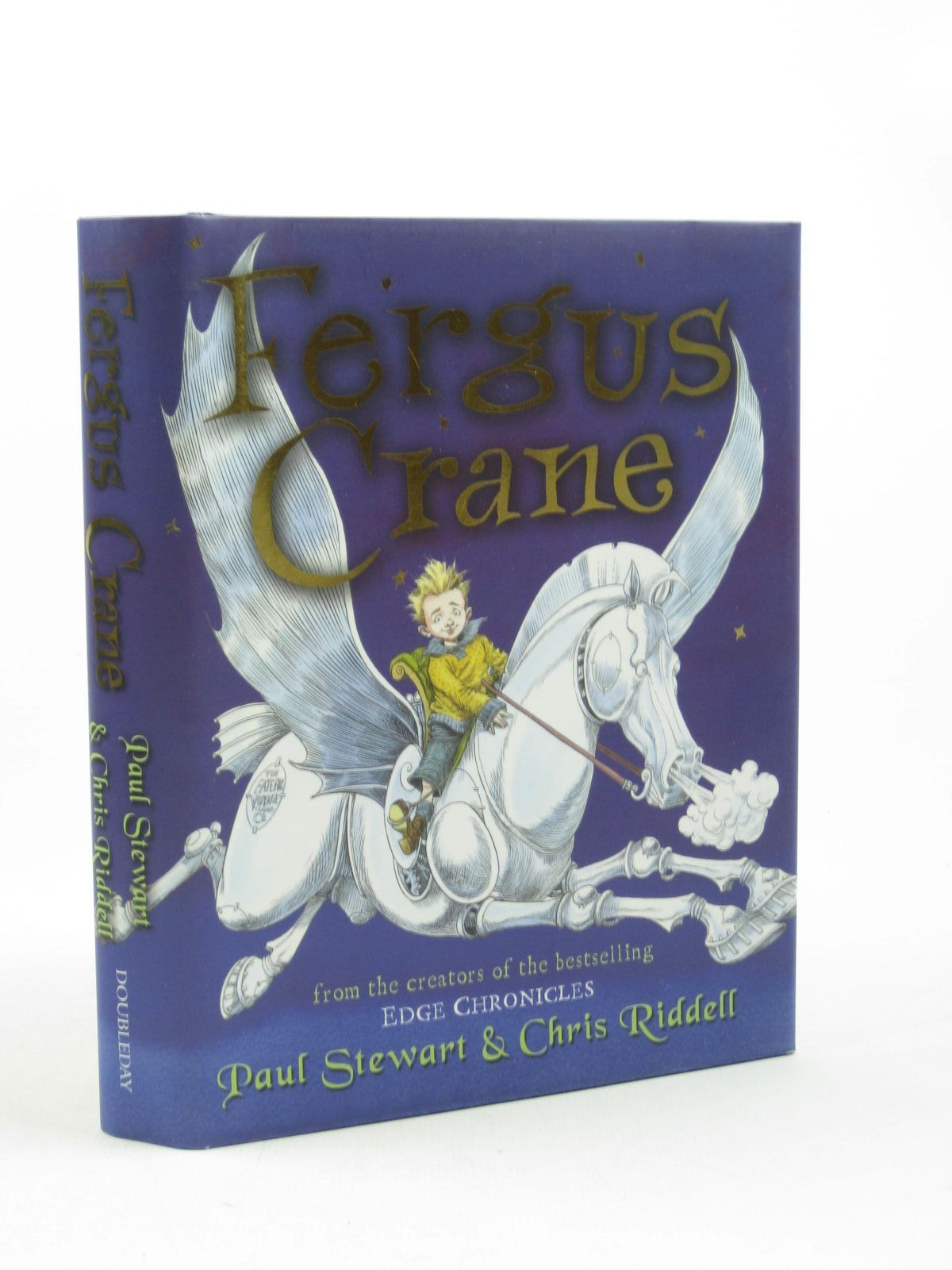 Photo of FERGUS CRANE written by Stewart, Paul illustrated by Riddell, Chris published by Doubleday (STOCK CODE: 1312667)  for sale by Stella & Rose's Books