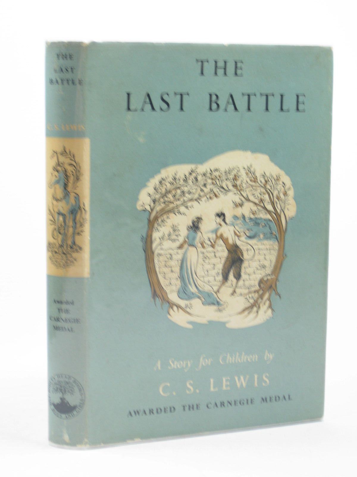 Photo of THE LAST BATTLE written by Lewis, C.S. illustrated by Baynes, Pauline published by The Bodley Head (STOCK CODE: 1312673)  for sale by Stella & Rose's Books