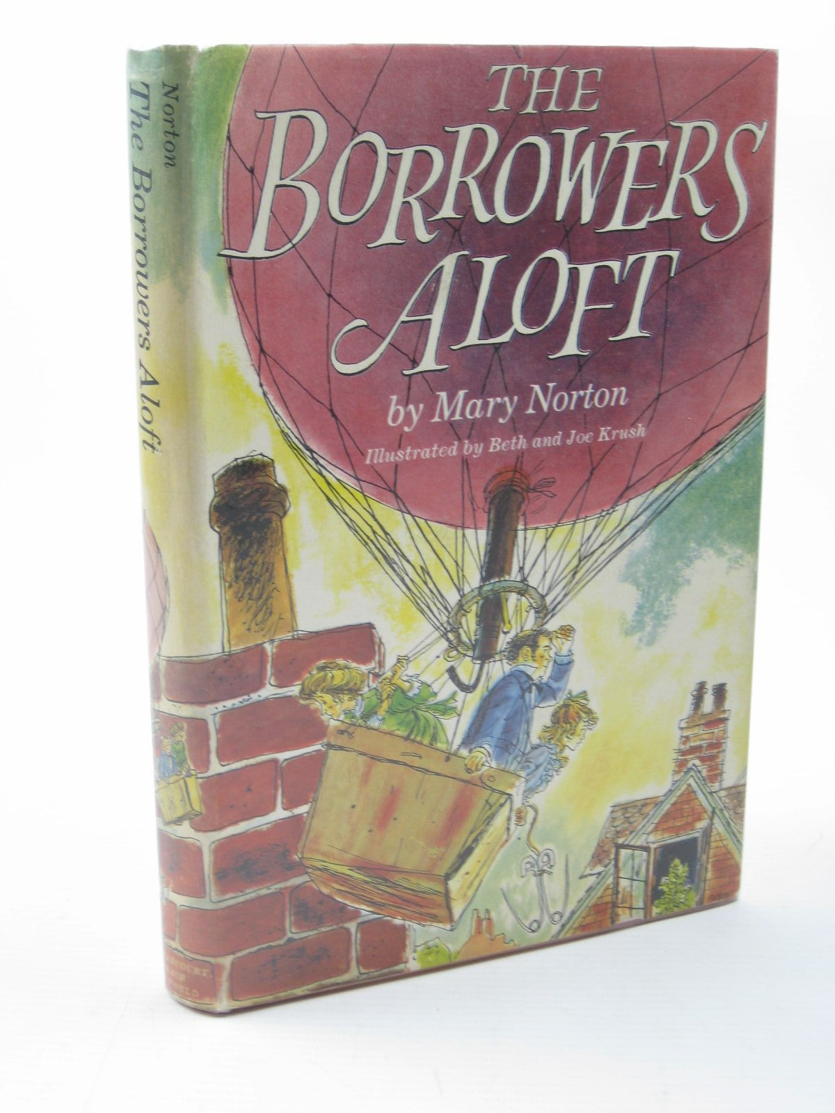 Photo of THE BORROWERS ALOFT written by Norton, Mary illustrated by Krush, Beth Krush, Joe published by Harcourt, Brace & Company (STOCK CODE: 1312716)  for sale by Stella & Rose's Books