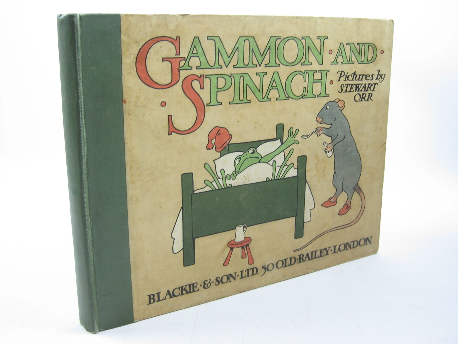 Photo of GAMMON AND SPINACH written by Brymer, John illustrated by Orr, Stewart published by Blackie & Son Ltd. (STOCK CODE: 1312737)  for sale by Stella & Rose's Books